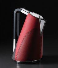 Czajnik elektryczny Vera, czerwona skóra